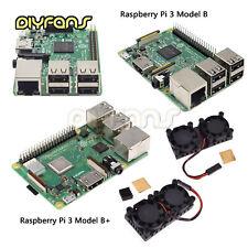 Raspberry Pi3 Model B B+ Quad Core 1.2GHz 1.4GHz 64bit CPU WiFi & Bluetooth
