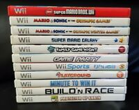 Wii Video Game Lot(11)