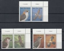 TIMBRE STAMP 6 PAPOUASIE Y&T#496-501 OISEAU BIRD NEUF**/MNH-MINT 1985 ~B78
