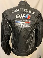 New French Elf Competition Padded Motorcycle Motorsport Jacket Coat Embroidered