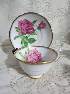 Vintage Collingwoods Tudor Rose Tea Cup & Saucer