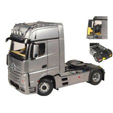 MERCEDES ACTROS GIGA SPACE 4x2 SILVER 1:18 NZG Camion Die Cast Modellino
