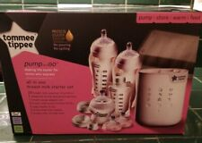 Tommee Tippee Pump and Go Complete All in One Breast Milk Starter Set