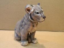 Royal Copenhagen Denmark Figurine Lion Cub #1800 Dahl Jensen Design Vintage