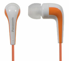 Panasonic RP-HJE140 Orange Canal Type Insidephones for Ipod / MP3 player/Mobiles