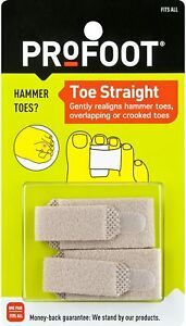 ProFoot Toe Straight Hammertoe Wrap, 1 Pair, One Size Fits All