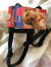 New listing adjustable dog harness small 10-18� girth Black