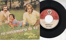 RICCHI E POVERI raro disco 45 giri MADE in ITALY M'innamoro di te