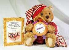 Benson Bear Hallmark Crayola Storybook Friends w/ Illustrated Bedtime Storybook