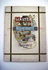 """Stunning 1895 """"Walter A. Wood"""" Mowing & Reaping Farm Machine Co.Catalog *"""