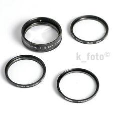 Effektfilter-Set 49mm * Prisma-Tricklinse, Cross/Sterneffekt, Duto, Diffusor 49