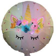 """18"""" Unicorn Pink Balloon  Mylar Foil  Party Decorations Gifts"""