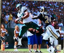 L. J. SMITH EAGLES OFFICIAL LICENSE NFL 8X10 PHOTO