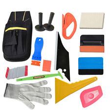 14PCS PRO  Vinyl Squeegee Kit Car Window Film Tint Application Tools - Magnets