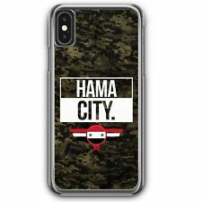 Hama City Camouflage Syrien iPhone XS Hardcase Hülle Syrisch Syria Cover Case H