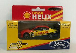 STEVEN JOHNSON SHELL HELIX RACING FORD FALCON 1:64 SCALE MODEL CAR MOTORSPORT