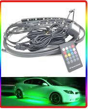 LED Multicolore Terra Undercar KIT NEON GLOW STROBO Remoto Controllato 12v AUTO