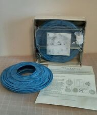 Pottery Barn Blue Round Paper Lanterns Set of Ten