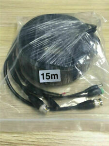15M 49Ft PTZ Power Video & RS-485 Control Cable for Night Owl PTZ Cameras UK