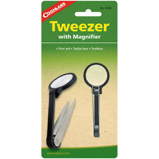 Coghlan's Tweezer with Magnifier, 5x Magnification, Survival First Aid Camping