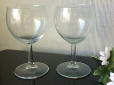 Clear Wine Glasses Balloons Set of 2 Goblets 200ml Serving Drink Cups