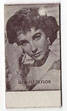 Spanish Weighing Weight Machine Card Anonymous issuer UK Actress Liz Taylor