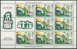 Slowenien 1998 Europa CEPT Feste Feiertage Georgsfest 225 K postfrisch (C96699)