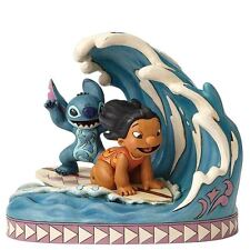Disney Traditions 'Catch The Wave' Lilo and Stitch 15th Anniversary Figurine