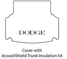 1955 1956 Dodge Stationwagon Trunk Rubber Floor Mat Cover with ME-100 Dodge