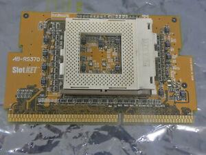 ABIT AB-RS370  CPU Converter Adapter Intel Slot 1 socket 370 Slotket