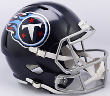 TENNESSEE TITANS NFL Riddell SPEED Full Size AUTHENTIC Football Helmet