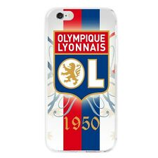 DIY Coque Drapeau+OL Olympique Lyonnais Housse Etui Cool Para-chocs Original