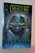 Image Comics Creature From The Depths 2007 Signed By Mark Kidwell Jay Fotos