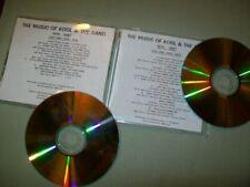 Kool & The Gang         **PROMO DOUBLE CD**        The Music of Kool & The Gang