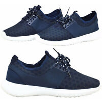 Oasis Womens Shoes Lace Up Mesh Ladies Trainers Sports Casual Running Boots