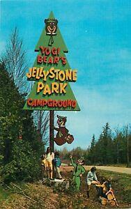 1960s Yogi Bear's Jellystone Park Campground - Roadside Americana Postcard