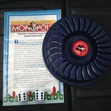 Monopoly Replacement Dice, Deed Rack, Directions - 1998 Deluxe Edition