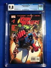 Young Avengers #1 CGC 9.8 WP (Marvel 2005) 1st app Young Avengers