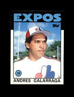 1986 Topps Traded Baseball #40T Andres Galarraga (Expos) NM-MT