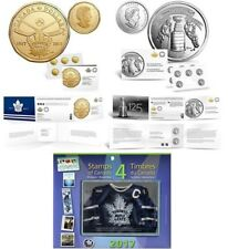 Toronto Maple Leafs 100th Anniversary Coin Pack & Stamp with Stanley Cup Coin Pk