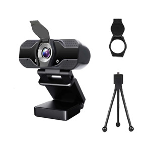 HDE | Entry Level HD 1080p Webcam | Video Conference | USB