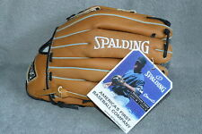 "Nwt Spalding All-Leather Cano Stadium 13.5"" Lht Baseball Softball Glove~Save$26"