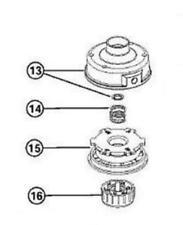 COMPLETE TRIMMER HEAD RYOBI 766R 2800M 720R 770R 791-610317B 791-153066B