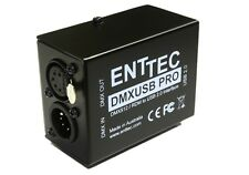 ENTTEC DMX-USB Pro Interface  DMX in / out, RDM, MAC / PC