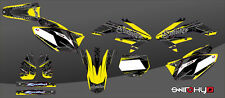 KIT ADESIVI GRAFICHE  #CORNER YELLOW  HONDA CRF 450 2008 DECALS DEKOR