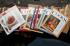 COOK'S ILLUSTRATED MAGAZINES / COOKS COUNTRY~LOT OF 9