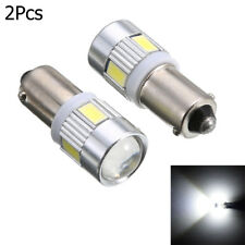 White LED BA9S T4W H6W 363  5630 6 SMD License Plate Bulb Car Wedge Side Light