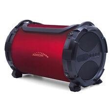 Bazooka Bluetooth Lautsprecher FM Mp3 MicroSD Akku Tragbar LED IPX4 Schutz