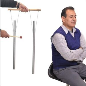 Schumann Tuned Pipes & Hand Stand gives 7.83 Hz of Earth louder than Tuning Fork
