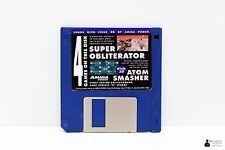 """Commodore AMIGA 3,5"""" Spiel - SUPER OBLITERATOR, ATOM SMASHER - Power Disk 38"""